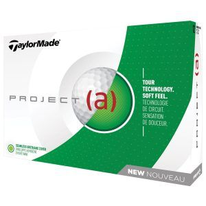 Project (a) - Bola de golf Taylormade blanca